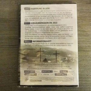 DVD Passionsspiele Erl 2013